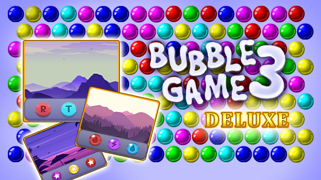 Image Bubble Game 3 Deluxe