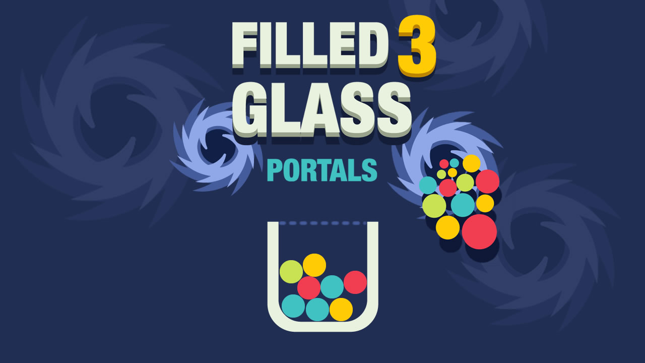 Image Filled Glass 3 Portals