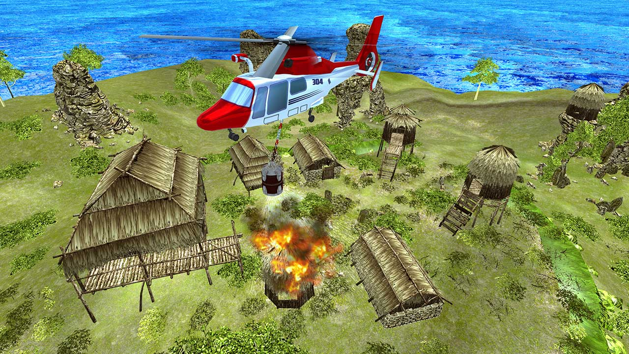 Image Helicopter Rescue Flying Simulator 3D