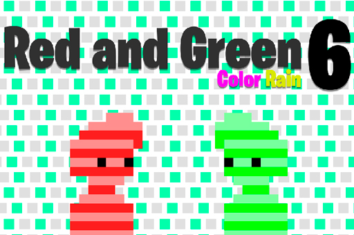 Image Red and Green 6 Color Rain