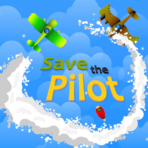Image Save The Pilot Airplane HTML5 Shooter Game